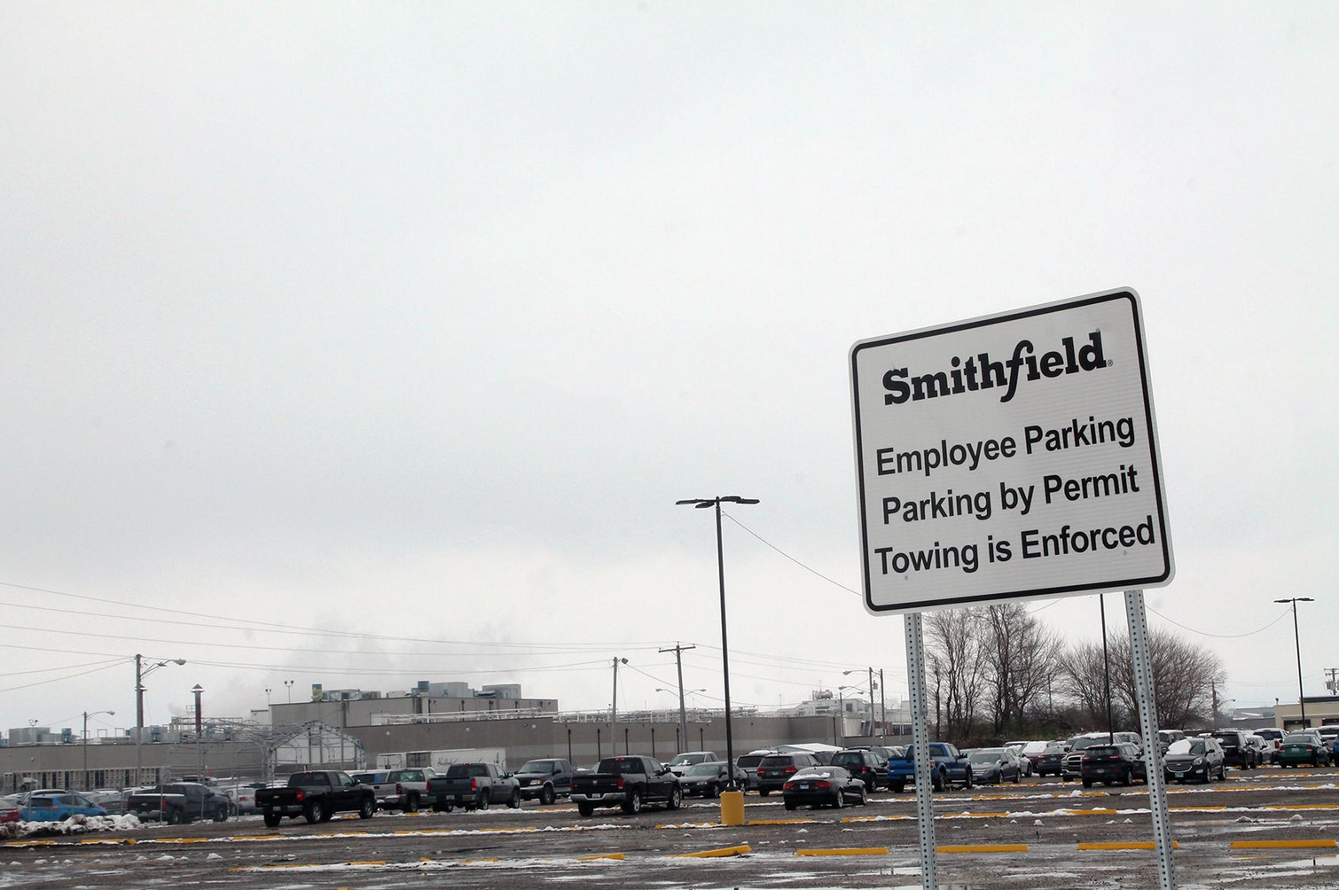 Data: Monmouth Smithfield plant had 188 cases