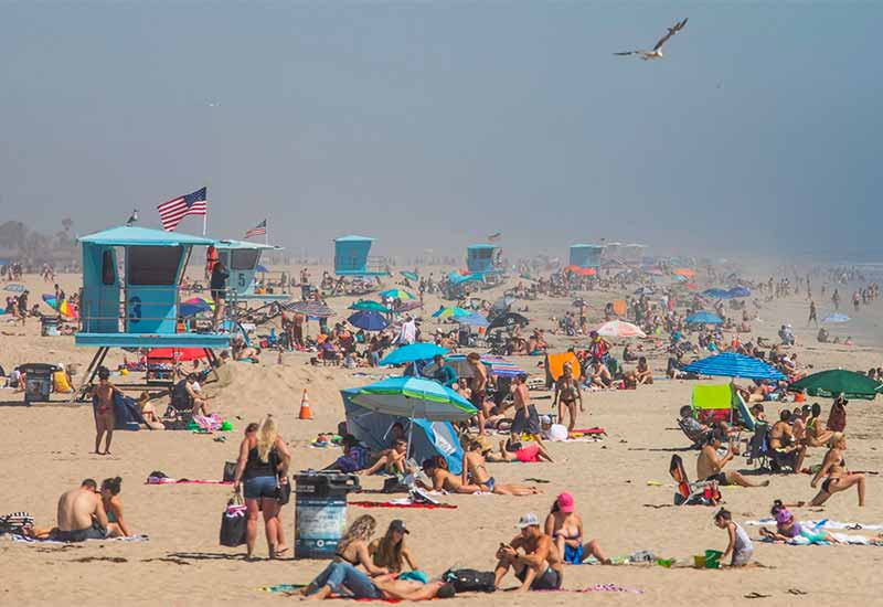 Frustrated by Crowds, Coastal States Weigh What to Do About Beaches
